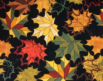 Fall Autumn Leaves Valance