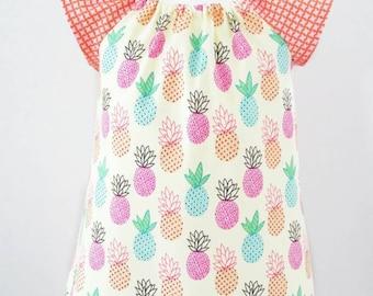 Girl's Pineapple Dress