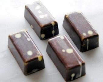 Coconut Chocolates in a gift box, artisan handmade chocolate, gourmet candy, gluten free