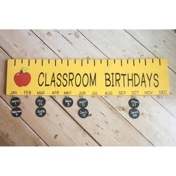 DIY Kit Classroom Birthday Board Supplies Teacher