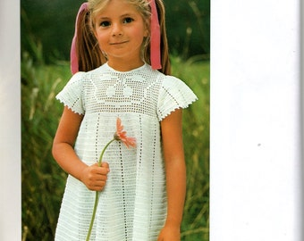 """Model-boss ' Robe hook girl """"/ size 2-3 and 5 years old / Vintage 70's"""