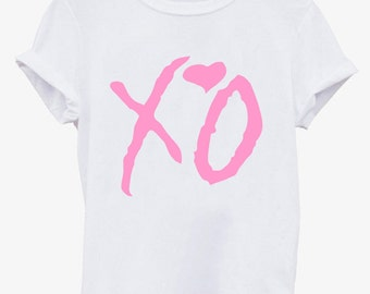 XO the weeknd Pink shirt, Ovoxo XO shirt , The weeknd, XO crop tank women tee