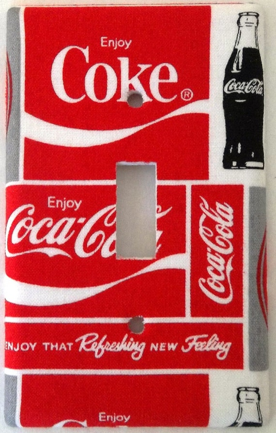 Coca Cola Soft Drink Kitchen Wall Decor Light Switch Covers Sets ...