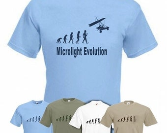 Evolution to Micro Light t-shirt Funny  T-shirt sizes S TO XXL