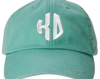 Kappa Delta Lettered Round Monogram Premium Pastel Hat