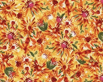 1 YD - Pandora Packed Floral by Timeless Treasures