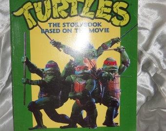 Teenage Mutant Ninja Turtles book 1990