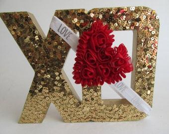 Baby Headband, Valentine's Day, Red Heart Headband, Love, Heart Headband