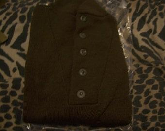 Military Wool Sweater