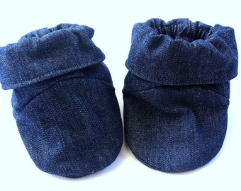 Crib Shoes Baby Slippers Baby Booties Soft Sole Baby Shoes Baby Shoes Baby Boy Booties Baby Girl Booties Denim Baby Boots Winter Booties