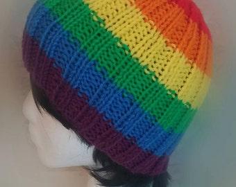Rainbow Beanie