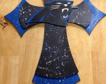 Carolina Panthers Wall Cross