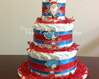 Children's Nursery Rhyme Themed Diaper Cake