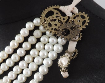 """Long necklace """"The Lady with the secrets"""""""