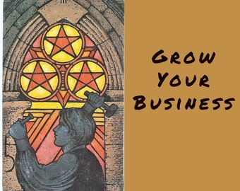 Tarot Reading: Grow Your Business