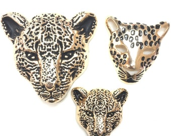 Leopard Charms in Three Sizes (1 Charm)