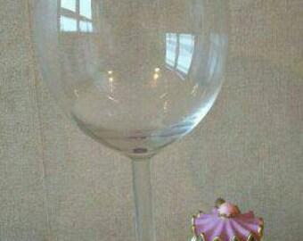 Mrs Potts wine glass