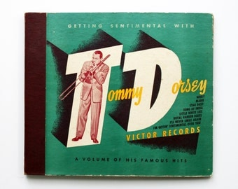 Tommy Dorsey - Getting Sentimental with Tommy Dorsey - Four Record Set 78 RPM