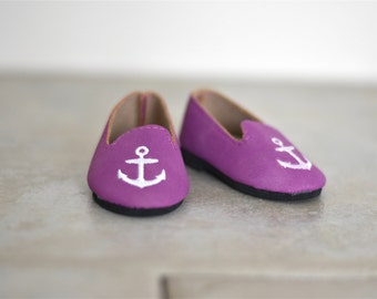 Anchor flats Plum color