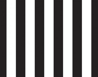 "Black Metallic Stripes Tissue Paper - 20"" X 30"" - 24 Sheet Count"