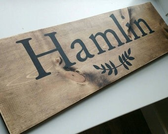 Custom Family, Last Name Sign