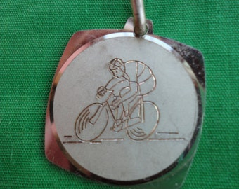 Vintage  Bicycle Racing Medal