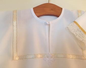 Orthodox Baby Baptismal Robe