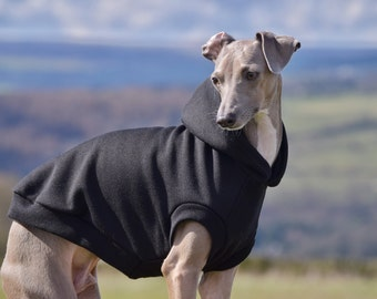 Ink Sleeveless Hoodie for Italian Greyhounds