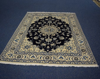 Nice Persian Naein Hand knotted Rug