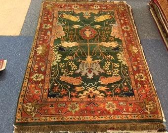 Vintage Afghan turkman oriental rug
