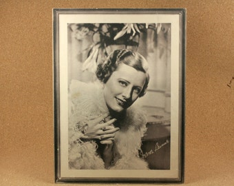 Irene Dunne Movie Star - 1934 Studio Portrait - Black and White Publicity Photo - RKO Radio's 'The Age of Innocence'