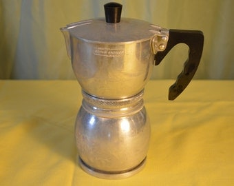 Espresso Maker Domus Express By Brevetatta 1950's Vintage Kitchen