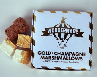 Gold Champagne Marshmallows