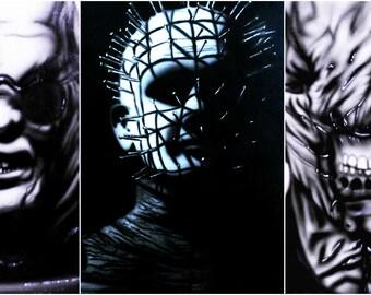 Set of 3 Prints - Hellraiser Art