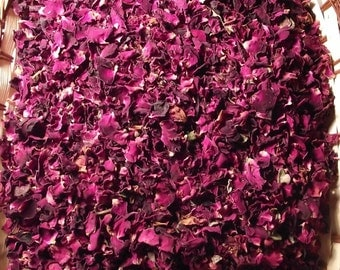 25 grams of Dried Purple Rose Petals Wedding Confetti/Home Fragrance - Free P&P in UK