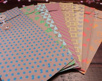 Midori-Fauxdori-Dori envelopes - set of 2
