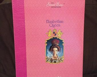 Barbie doll, doll, vintage Barbie, collectible Barbie, Elizabethan queen barbie