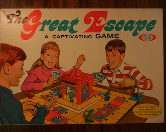 The Great Escape Game by Ideal ~ 1967