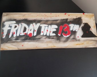 PS4 Hard Drive Cover - Friday The 13th - Custom