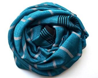 Silk Bamboo Towel- Turkish Towel / Beach Blanket / Beach Accessories / Beach Towel / Turkish Beach Towel / Scarf / Shawl-015