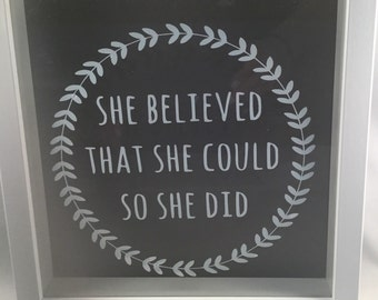 Inspirational quote.sports quotes.believe in yourself. Motivational quote. Gymnast quote. Athlete quote. Framed quote