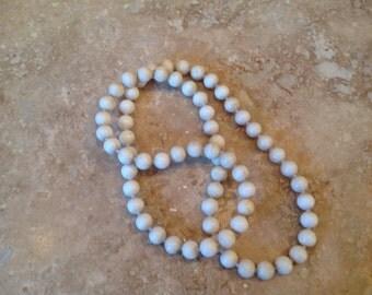 Vintage off white pop beads