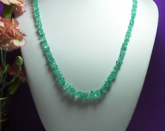 Apatite Necklace 21.5inch 130ct
