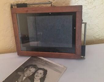 Vintage Kodak Auto Mask Printing Frame, Repurpse Frame, Black & White Photos, Vintage Picture Frame, Vintage Photography
