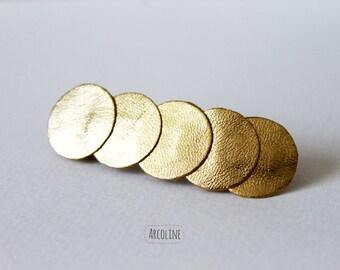 Golden Leather Strip