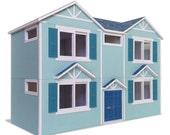model B #002 - ifunwoo Dollhouse Paper Model