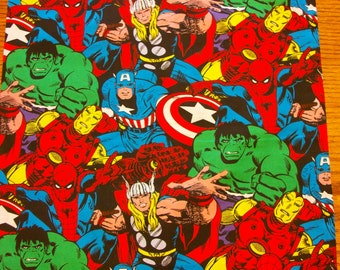"""SUPER HEROES PILLOWCASE Toddler/Travel Size 14"""" X 20"""""""