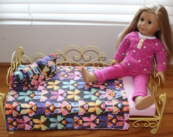Butterfly Doll Bedding