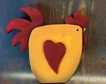 Folk Art Chicken