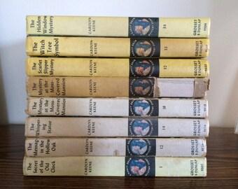 Nancy Drew Books #1 #12 #14 #18 #32 #33 #34